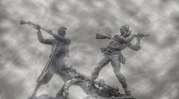 Cemetery Ridge Photograph - Battle Of Gettysburg 150 Blue And The Gray by Randy Steele