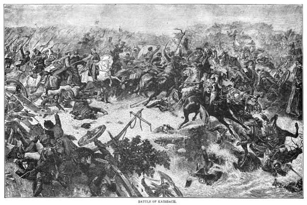 Wall Art - Painting - Battle Of Katzbach, 1813 by Granger