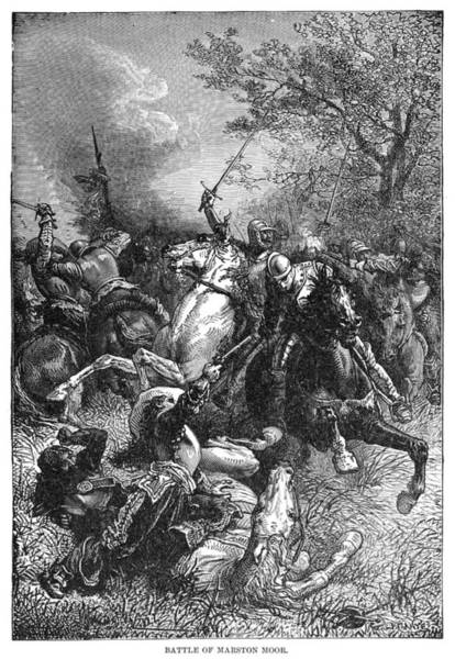 Wall Art - Painting - Battle Of Marston Moor by Granger