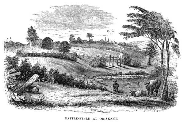 Photograph - Battle Of Oriskany, 1777 by Granger