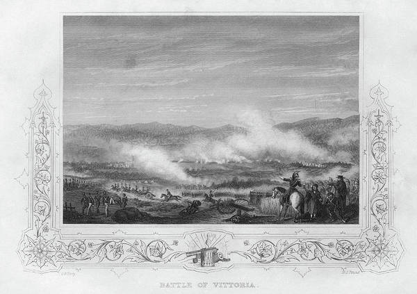 Wall Art - Painting - Battle Of Vitoria, 1813 by Granger