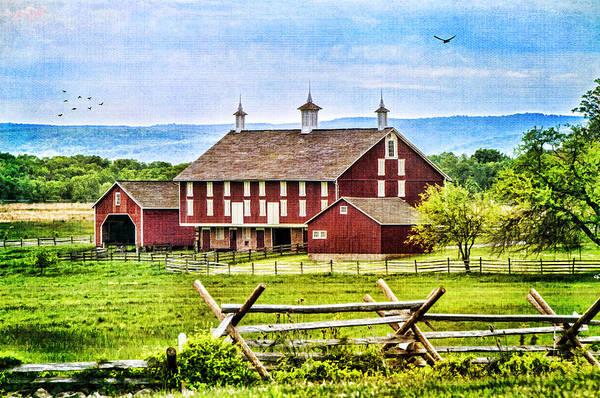 Battlefield Barn Art Print