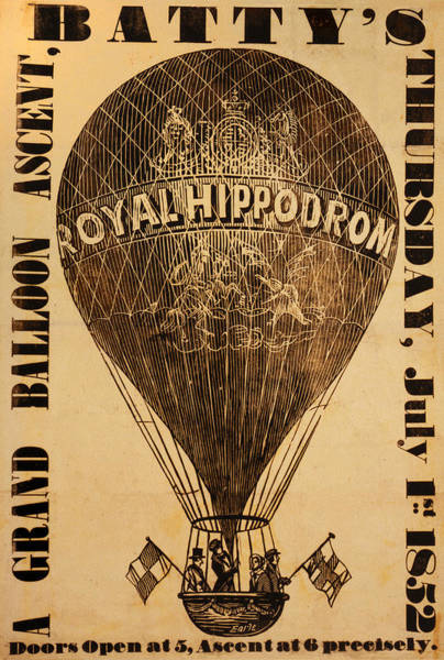 Photograph - Batty's Grand Balloon Ascent by Bill Cannon