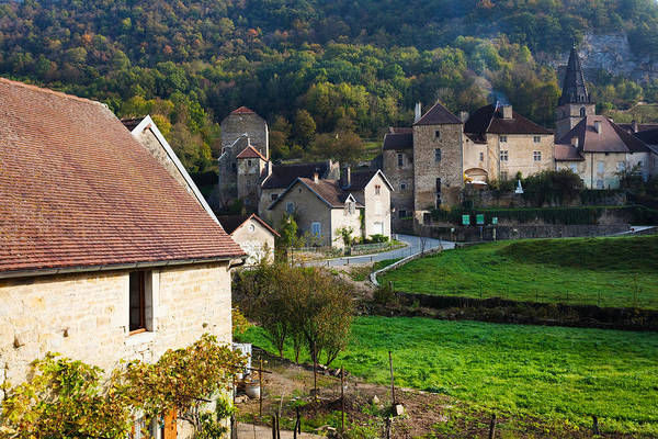 Comte Wall Art - Photograph - Baume Abbey Church by Panoramic Images