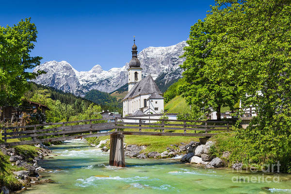 Village Creek Photograph - Bavarian Beauty by JR Photography