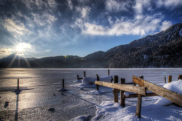 Photograph - Bavarian Sunrise by Ryan Wyckoff