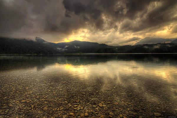 Photograph - Bavarian Sunset by Ryan Wyckoff