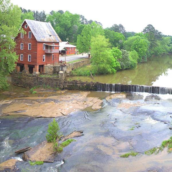 Photograph - Baxter's Mill - Square by Gordon Elwell