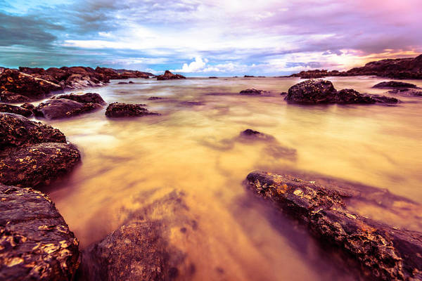 End Of Summer Photograph - Bay At Twilight by Moreiso