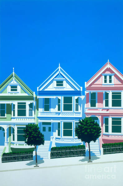 Victorian House Digital Art - Bay View by MGL Meiklejohn Graphics Licensing