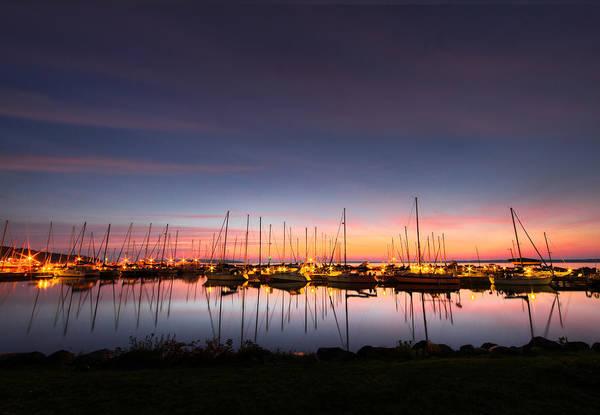 Bayfield Wall Art - Photograph - Bayfield Wisconsin Perfect Calm Harbor by Wayne Moran