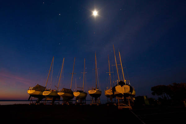 Bayfield Wall Art - Photograph - Bayfield Wisconsin Point To The Heavens by Wayne Moran