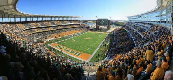 Wall Art - Photograph - Baylor Gameday No 5 by Stephen Stookey