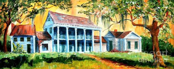 Wall Art - Painting - Bayou Country by Diane Millsap