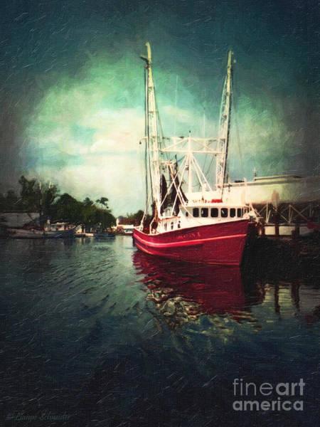 Shrimp Digital Art - Bayou Labatre by Lianne Schneider
