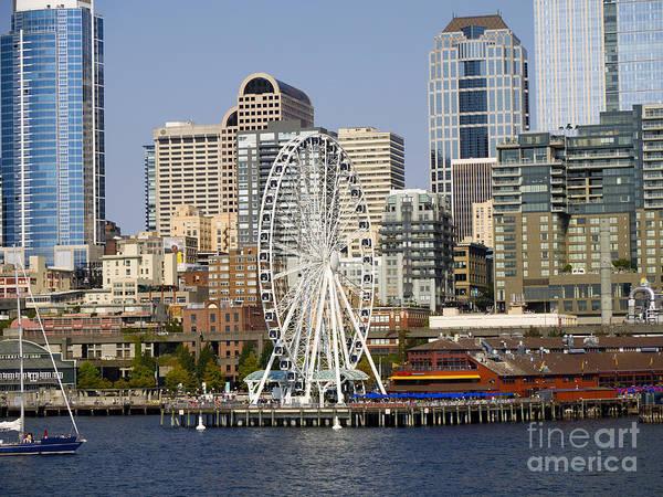 Photograph - Bayside Seattle by Brenda Kean