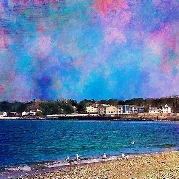 Wall Art - Photograph - Bayville Beach .. I Took This Picture by Robin Mead