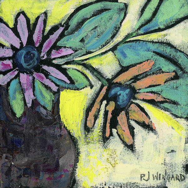 Oil Pastel Painting - Be Authentic by Pamela J. Wingard