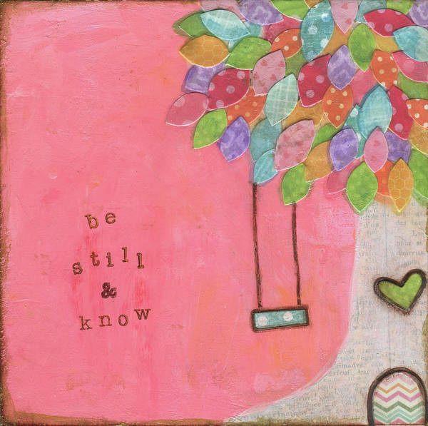 Wall Art - Painting - Be Still by Alli Rogosich