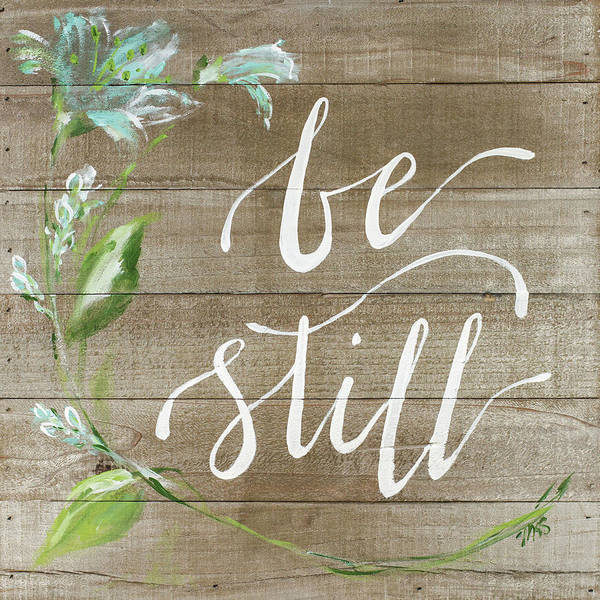 Wall Art - Painting - Be Still by Molly Susan Strong