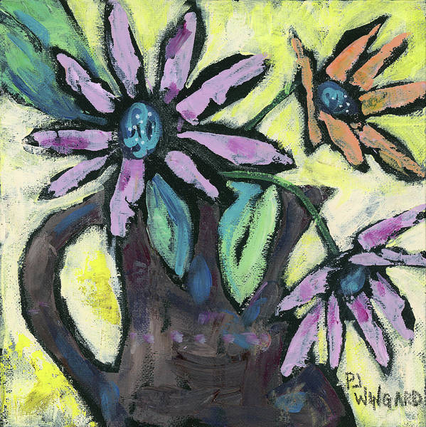 Oil Pastel Painting - Be You by Pamela J. Wingard