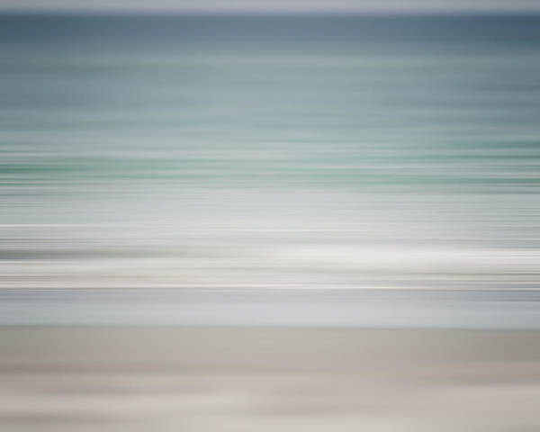 Lisa Russo Wall Art - Photograph - Beach Abstract In Shades Of Pale Blue And Grey by Lisa Russo