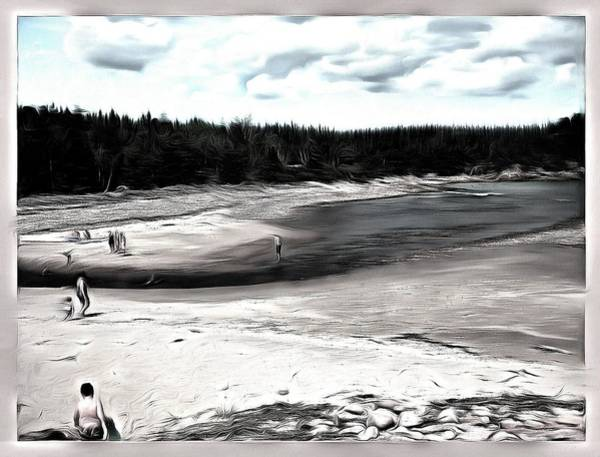 Cabot Trail Photograph - Beach Along The Cabot Trail by Mario Carini
