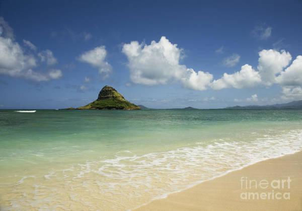 Photograph - Beach And Mokoli'i Island by Charmian Vistaunet