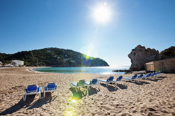 Beach Holiday Photograph - Beach At Cala De Sant Vicent by Jorg Greuel