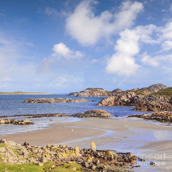 Wall Art - Photograph - Beach At Fionnphort Mull Scotland by Colin and Linda McKie
