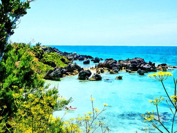 Photograph - Beach At St. George Bermuda by Susan Savad
