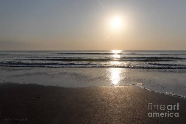 Beach At Sunrise Art Print