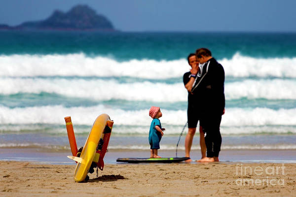 Sennen Cove Photograph - Beach Baby by Terri Waters