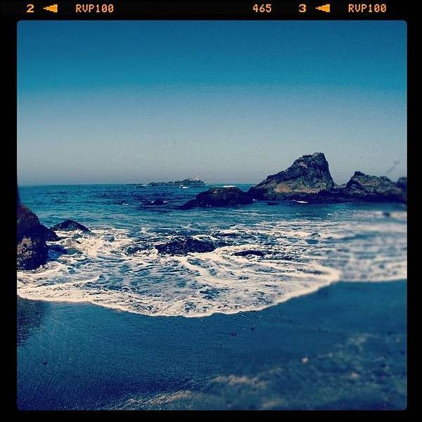Sunny Wall Art - Photograph - #beach #beautiful #water #waves #nature by Jill Battaglia