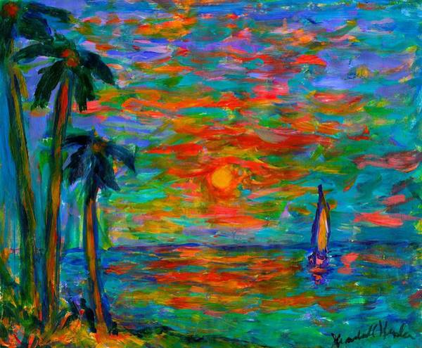 Painting - Beach Beauty by Kendall Kessler
