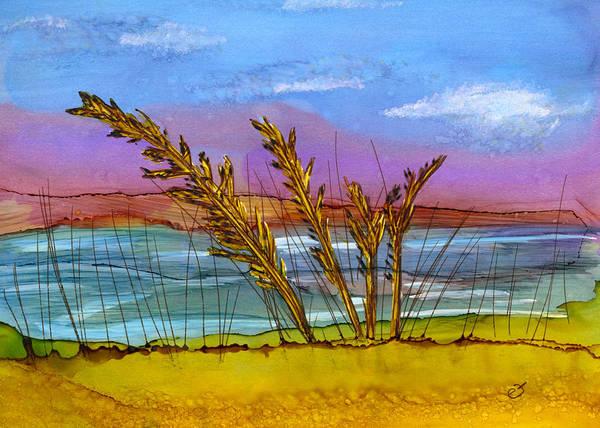 Beach Berm Art Print