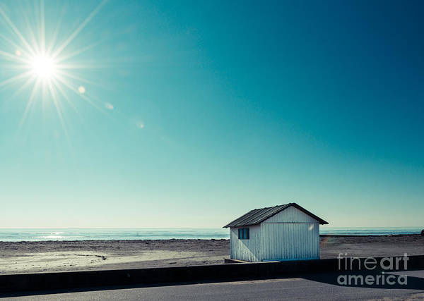 Photograph - beach cabin II by Hannes Cmarits