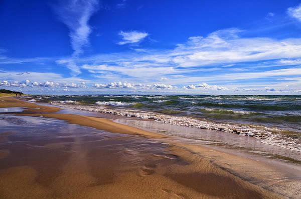 Photograph - Beach Combing by Rachel Cohen