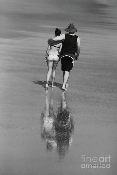 Photograph - Beach Couple by Deborah Benoit