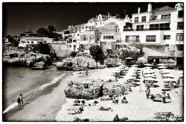 Photograph - Beach Day In Cascais by John Rizzuto