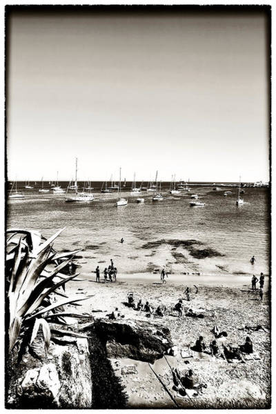 Photograph - Beach Days At Cascais by John Rizzuto