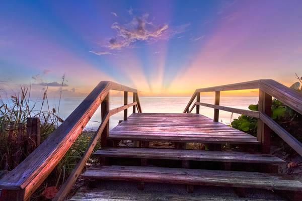 Boynton Photograph - Beach Dreams by Debra and Dave Vanderlaan
