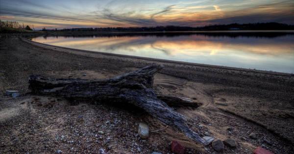 Photograph - Beach Driftwood by David Dufresne