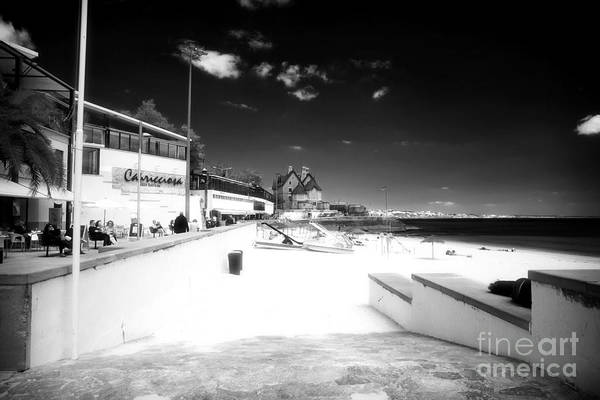 Photograph - Beach Entry In Cascais by John Rizzuto