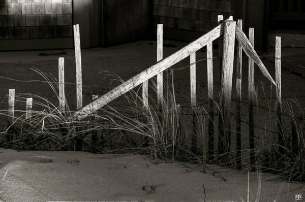 Photograph - Beach Fence by John Meader