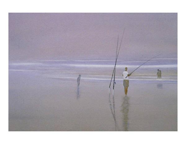 Painting - Beach Ghosts by Peter Senesac