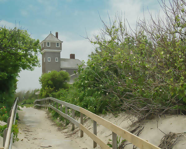 Wall Art - Photograph - Beach House by Dave Sandt