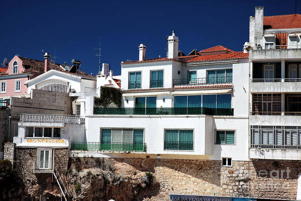 Photograph - Beach House In Cascais by John Rizzuto