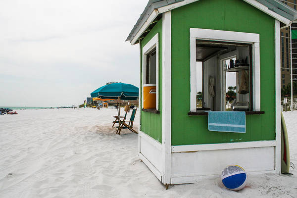 Photograph - Beach Hut by Jeff Mize