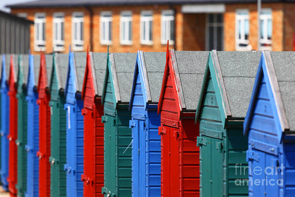 Photograph - Beach Huts 1 by James Brunker
